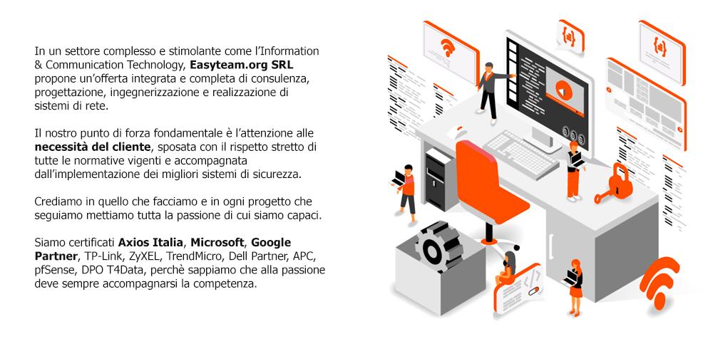 Why Easyteam.org SRL?